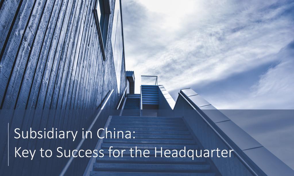 Subsidiary in China